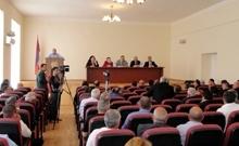 Տեղի ունեցավ Արմավիրի մարզխորհրդի հերթական նիստը