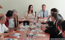 Մարզպետն ընդունել է Չեխիայի Հանրապետությունը ներկայացնող հնագետների խմբին