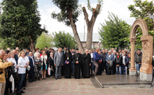 Մարզպետը ներկա  է գտնվել  Բաղրամյան համայնքի 70-ամյակին նվիրված տոնակատարությանը