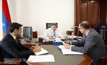 Մարզպետ Աշոտ Ղահրամանյանը վարչապետին է ներկայացրել հանձնարարականների կատարման ընթացքը