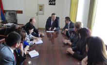 Աշոտ Ղահրամանյանն ընդունել է Հայաստանում ՉՀ դեսպանին