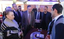 Մարզպետ Աշոտ Ղահրամանյանը ներկա է գտնվել Արմավիրում կազմակերպված «Աշխատանքի տոնավաճառին»