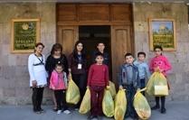 Սոցիալապես խոցելի ընտանիքներին աջակցություն է ցուցաբերվել «Դիակոնիա» կազմակերպության կողմից