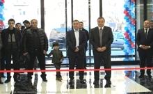 Մարզպետ Աշոտ Ղահրամանյանը ներկա է գտնվել «ԻՍՍՕ ՄՈԼ» առևտրի կենտրոնի բացմանը