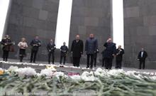 Վոլոգդայի պատվիրակությունն այցելել է Ծիծեռնակաբերդի Հայոց ցեղասպանության հուշահամալիր