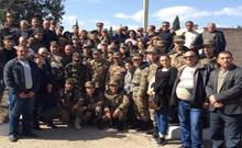 ԼՂՀ-ում ծառայող ջանֆիդեցի զինվորներին են այցելել իրենց հարազատները
