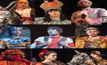 Չեխական «Բավականին Մեծ Թատրոն»-ն Արմավիրի մշակույթի տանը հանդես է եկել «Սերը և ժամանակը» ներկայացմամբ