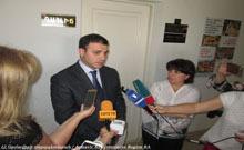 Մարզպետ Գագիկ Միրիջանյանը ճեպազրույց է ունեցել լրագրողների հետ