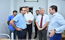 ՀՀ առողջապահության նախարարն այցելել է մարզպետարանի ենթակայությամբ գործող բուժհաստատություններ