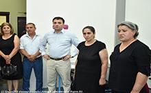 Մարզպետ Գագիկ Միրիջանյանն այցելել է Հայրենիքի պաշտպանի վերականգնողական կենտրոն