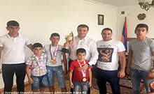 Գագիկ Միրիջանյանն ընդունել է K1 Հայաստանի  ազգային սիրողական ֆեդերացիայի Արմավիր մասնաճյուղի նախագահին և մարզիկներին