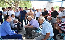 Մարզպետ Գագիկ Միրիջանյանը ճանաչողական այցով եղել է Վաղարշապատի տարածաշրջանի բոլոր համայնքներում
