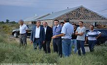 Մարզպետ Գագիկ Միրիջանյանը ծանոթացել է «Բագրևանդ» ՍՊԸ-ի կողմից նախատեսվող ջրամբարաշինության ծրագրին