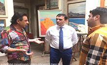 Մարզպետն այցելել է Սարգիս Վարդանյանի արվեստանոց-թանգարան