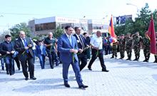 Հարգանքի տուրք է մատուցվել Հայրենիքի անկախության համար զոհվածների հիշատակին