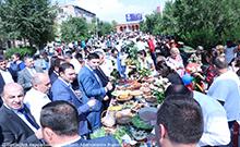 Տոնական օրվան նվիրված հյուրասիրություն` մարզկենտրոն Արմավիրում