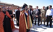 Հերոսացած զինվոր Սևակ Խաչատրյանի հիշատակին նվիրված հուշարձան է բացվել հայրենի գյուղում