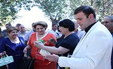 Մարզպետը Փշատավան համայնքում մասնակցել է «1000 տարվա գյուղամեջ» փառատոնին