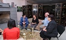Փոխմարզպետ Կարեն Գրիգորյանն այցելել է «Արմենիան Լայթհաուս» բարեգործական հիմնադրամի հայստանյան գրասենյակ
