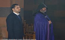 Մարզպետը ներկա է գտնվել Տեառնընդառաջի տոնին մատուցվող Սուրբ Պատարագին