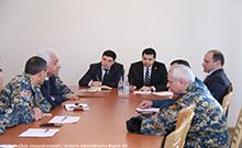 Քննարկվել են Արմավիրի մարզում քաղաքացիական պաշտպանության վիճակին և զարգացման հիմնական միտումներին վերաբերող հարցեր