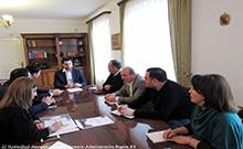 Քննարկվել են «Իմ քայլը հանուն Արմավիրի մարզի» ներդրումային համաժողովի կազմակերպմանը վերաբերող հարցեր