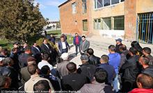 Մարզպետը հանդիպել է Գրիբոյեդով համայնքի բնակիչների հետ
