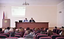 Տեղի է ունեցել մարզի հանրակրթական ուսումնական հաստատությունների տնօրենների հերթական խորհրդակցությունը