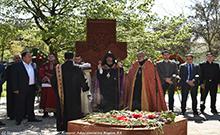 Արմավիրում հարգանքի տուրք է մատուցվել Հայոց ցեղասպանության Սուրբ նահատակների հիշատակին
