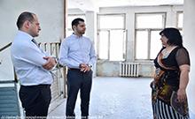 Մարզպետ Համբարձում Մաթևոսյանն անակնկալ այցով եղել է Վաղարշապատի թիվ 9 հիմնական դպրոցում