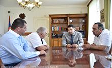 Մարզպետն ընդունել է ՍԱՊԾ Արմավիրի մարզային կենտրոնի պետին և ԱԱՏՄ Արարատի և Արմավիրի տարածքային կառույցների ղեկավարներին