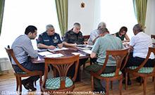 Տեղի է ունեցել Արմավիրի մարզային զորակոչային հանձնաժողովի նիստը