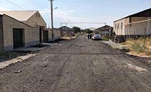 Աղացած ասֆալտի շերտով բարեկարգվել են Պտղունք համայնքի ճանապարհները