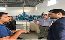 Մարզպետ Համբարձում Մաթեւոսյանն այցելել է «Կարաս Վայնս» ընկերություն