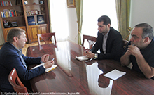 Քննարկվել են Հայաստանի մանուկներ հիմնադրամի կողմից մարզում իրականացվող եւ նախատեսվող ծրագրերը