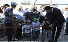 Մարզպետը մասնակցել է Հայկաշեն համայնքի մանկապարտեզի բացմանը