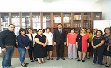 Գրադարանավարի օրվա առթիվ մարզպետն այցելել է Արմավիրի մարզային գրադարան
