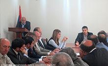 Քննարկվել են Ոռոգման համակարգերի արդիականացման ծրագրի շրջանակում Արմավիրի մարզի համայնքներում նախատեսվող աշխատանքները