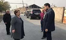 Մարզպետ Համբարձում Մաթևոսյանն այցելել է Արևաշատ համայնք