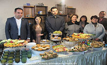 Մարզպետ Համբարձում Մաթևոսյանը ներկա է գտնվել «NօօK» սրճարանի բացմանը