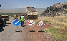Կվերանորոգվի Թալին-Քարակերտ-Թուրքիայի սահման  և Երվանդաշատ-Բագարան ճանապարհի 6,7 կմ հատվածը