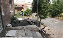 Մեկնարկել են Բաղրամյան (Վաղարշապատի տ.) համայնքի մանկապարտեզի բակի բարեկարգման աշխատանքները
