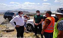 Տարածքային կառավարման և ենթակառուցվածքների նախարար Սուրեն Պապիկյանն այսօր աշխատանքային այցով եղել է Արմավիրի մարզում