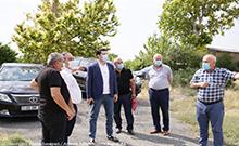 Մարզպետն այցելել է Մերձավան և Մրգաշատ համայնքներ