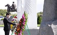 Մարզպետը Ակնալճի եզդիական սրբատեղիում մասնակցել է Շանգալի եզդիների ցեղասպանության զոհերի հիշատակին նվիրված միջոցառմանը