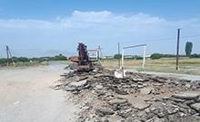 Մայիսյանում 2000 քմ ընդհանուր մակերեսով ասֆալտապատման աշխատանքները մեկնարկել են