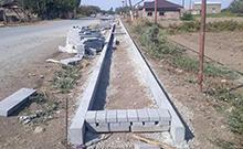 Արազափ համայնքի գլխավոր փողոցի մայթերի կառուցման աշխատանքները մեկնարկել են