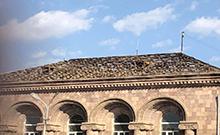 Մրգաշատում սուբվենցիոն 2-րդ ծրագրով մեկնարկել է  համայնքի վարչական շենքի տանիքի երանորոգումը