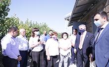Սարդարապատ համայնքում տեղի է ունեցել ջրամատակարարման համակարգի բարելավման ծրագրի ավարտական միջոցառումը