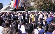 Հուշարձանի բացում և հարգանքի տուրք՝ Մուսալեռ համայնքում